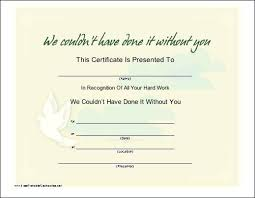 Certificate Of Appreciation Volunteer Work Sports Recognition Award Template Parent Volunteer Service