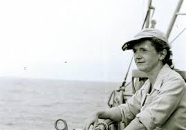 the next page when rachel carson set sail pittsburgh post gazette rachel carson in 1949 aboard the albatross ii a u s fish and wildlife service vessel
