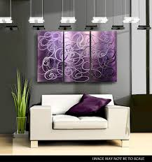 Www Wall Decor And Home Accents Wall Art Design Ideas Purple Abstract Accent Wall Art 60