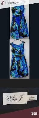 Eliza J Dress Size Chart Eliza J Dress Eliza J Womens Floral Sleeveless Dress Size 8