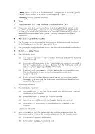 Permalink to Exclusive Distribution Agreement Template – Distributor Agreement Pdf Edit Download Bonsai : A distribution agreement is an agreement entered into between two parties wherein one party (the distributor) agrees to distribute the products of the other party (the supplier).