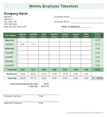 Timecard In Excel Timesheet Template Free Simple Time Sheet For Excel