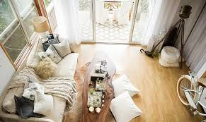 bohemian style living room. Contemporary Living And Bohemian Style Living Room