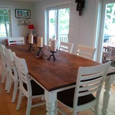 amazing 9 foot table plenty of e to entertain 8 10 people warm 10 ft dining room table plan