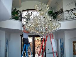 how to clean a chandelier window care inc clean chandelier without taking it down