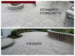 8 differences between stamped concrete