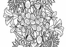 Flower Coloring Pages Printables Educationcom