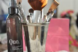 makeup brush cleaning tutorial quo brush cleaner