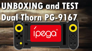 <b>iPega PG-9167 Dual Thorn</b> Wireless Controller for Android and iOS ...