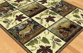 erness s deer area rugs red ab