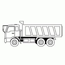 Vrachtautos Kleurplaten Leuk Voor Kids