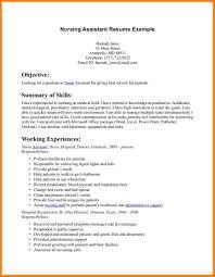 Nurse Assistant Cna Resume Example Cna Resume Sample Creating