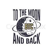 Btc Quote Classy Funny Bitcoin Concept Of Price Change BTC To The Moon And Back