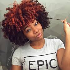 Curly Afro Flexi Rods Natural Hair