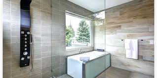 bathtub with glass wall blog a beautiful modern updated bathroom with a glass wall that leads bathtub with glass wall technique contemporary bathroom