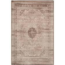 safavieh vintage beige light brown 5 ft x 8 ft area rug