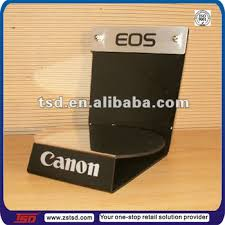 Table Top Product Display Stands Tsda100 Custom High Quality Retail Store Acrylic Camera Display 25