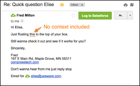 Email Me 7 Easy To Make Mistakes That Completely Ruin Your Follow Up