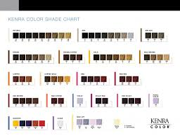 Kenra Color Chart Kenra Color Simply Stunning Results Kenra Professional