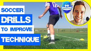 Soccer Drills: The Ultimate Guide (*Technical Football Drills For Kids /  Beginners / Adults) - YouTube