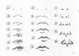 how to draw eyes printable