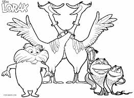 Small Picture Printable Lorax Coloring Pages For Kids Cool2bKids