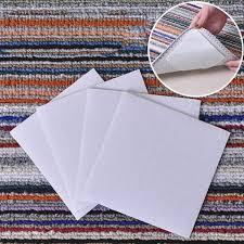 4pcs anti skid fabric floor washable carpet mat rug gripper stopper tape sticker