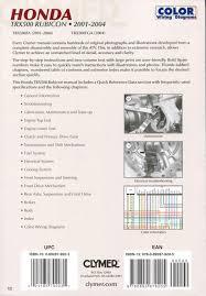 research claynes clymer honda trx500fa trx500fga rubicon 2001 2004 honda trx500fga trx500 trx 500 fga rubicon 210 210b 210p