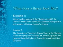 writing an effective essay how to outline and structure an  what does a thesis look like
