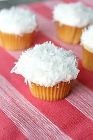 Coconut Cream Cupcakes With Homemade Buttercream Frosting All