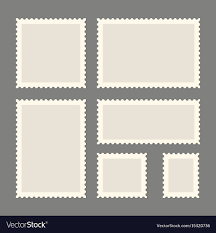 Stamps Template Postage Stamps Template