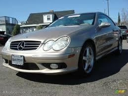 2003 Desert Silver Metallic Mercedes-Benz CLK 500 Coupe #47831116 ...