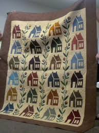 Blackfoot Piecemakers Quilt Club: September 2017 & 2017 Charity Raffle Quilt - blocks made by members and the quilt was  assembled, appliqued, and quilted by Connie Tabor Adamdwight.com