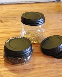 Decorative Spice Jars Decorative mason jars turned spice jars for easy and fun organization 66