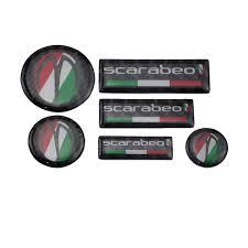 <b>KODASKIN 3D Real Carbon</b> Sticker Decal for Aprilia Scarabeo 50 ...