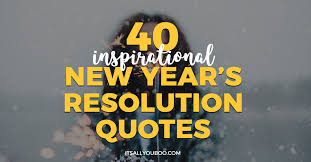 Inspirational New Year Quotes Cool 48 Inspirational New Year's Resolution Quotes It's All You Boo
