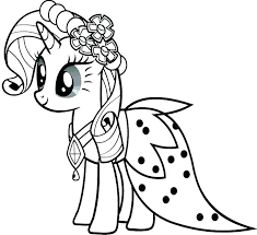 My Little Pony Sea Ponies Coloring Pages To Print Out Jokingart
