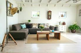living room design ideas brown leather sofa couch decorating dark wallpaper to match