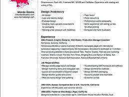Sample Graphic Design Resume Graphic Designer Resume Sample Resume