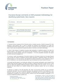 Life insurance provides money to your family after you die in exchange for regular premium payments while you're alive. Insurance Europe Comments On Iais Methodology For Identifying