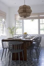 tiled dining room