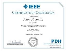 how to make a certificate of completion ieee ieee certificates program