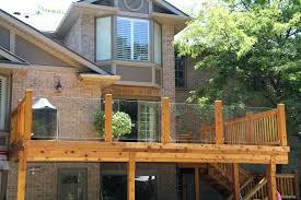 glass railings pros deck railing calgary add