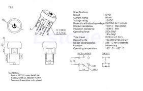 wiring spst led pushbutton 6 pins hardware canucks 6 pin toggle switch wiring diagram at 6 Pin Switch Wiring Diagram