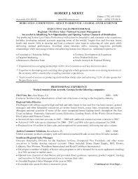Regional Sales Manager Resume Berathen Com