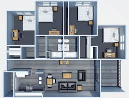 Lovely All Floor Plans4 Bedroom Classic