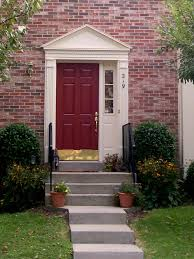 what color should i paint my front door5 Ways to Decorate With Red  HGTV