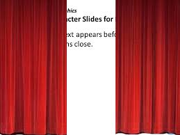 Powerpoint Slide Closing And Opening The Curtains 3d