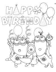 Happy Birthday Coloring Pages Free Printable Happy Birthday Jesus