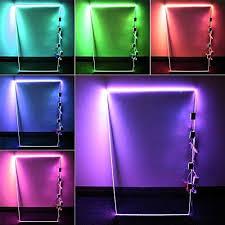 detalles acerca de rgb led glass edge lighting kit 4pcs rgb led glass shelf lights rgb ir remote